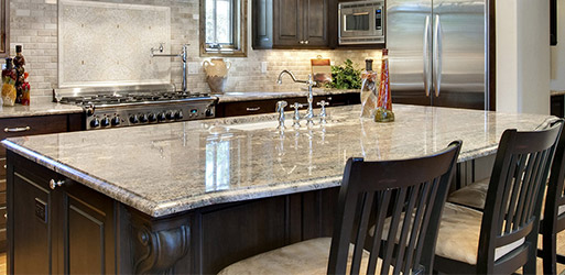 Simmons Floor Covering is Denton's number one choice for granite countertops.
