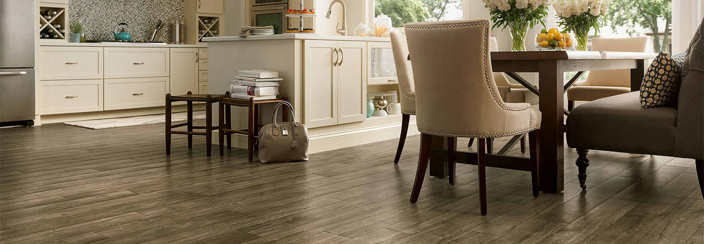Vinyl flooring from Simmons Floor Covering an Abbey Design Center