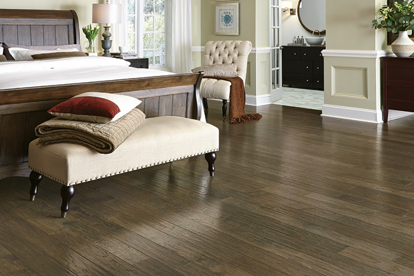 Hardwood flooring from Simmons Floor Covering an Abbey Design Center