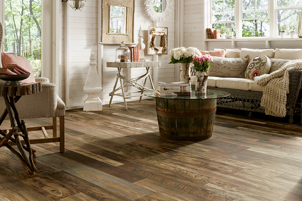 Laminate flooring from Simmons Floor Covering an Abbey Design Center