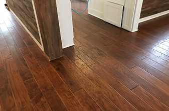 Anderson Engineered Hickory - Style: Virginia Vintage - Color: Autumn - Location: Denton, TX 76209