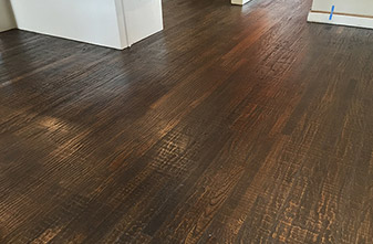 Armstrong Hardwood Beckford Plank Harvest Oak installed in Denton, TX