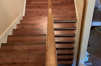 Flooring: LM Hardwood River Ranch 5in. - Color: Amaretto - Corinth, Texas 76210
