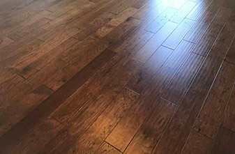 Mohawk Engineered Wood 5 Inch - Style: Windridge Hickory - Color: Mocha - Location: Sanger, Texas 76266