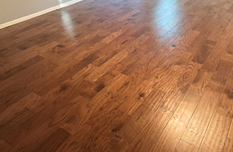 Prestige Mountain Harbor Engineered Hickory 5 Inch - Color: Hazelnut - Location: Denton, Texas 76201