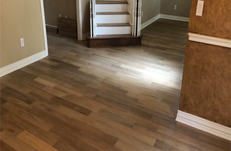 Restoration oak color tidal installed in flower mound Texas